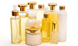 golden collection of beauty products